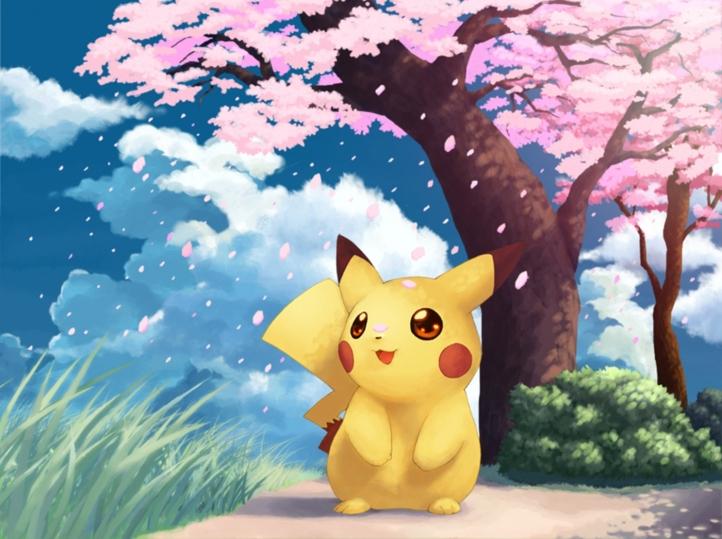 Fond d 39 cran gratuit pikachu fonds d 39 cran dessins for Fond ecran mignon