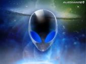 fond écran Alienware galaxy