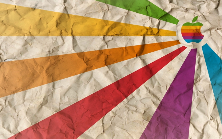 Apple mulitcolor fond écran wallpaper