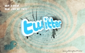 fond écran Twitter