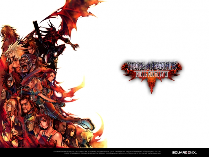 logo Dirge of Cerberus fond écran wallpaper