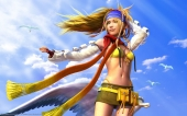 fond écran Final Fantasy X-2 - Rikku