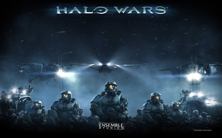 halo wars fond écran wallpaper