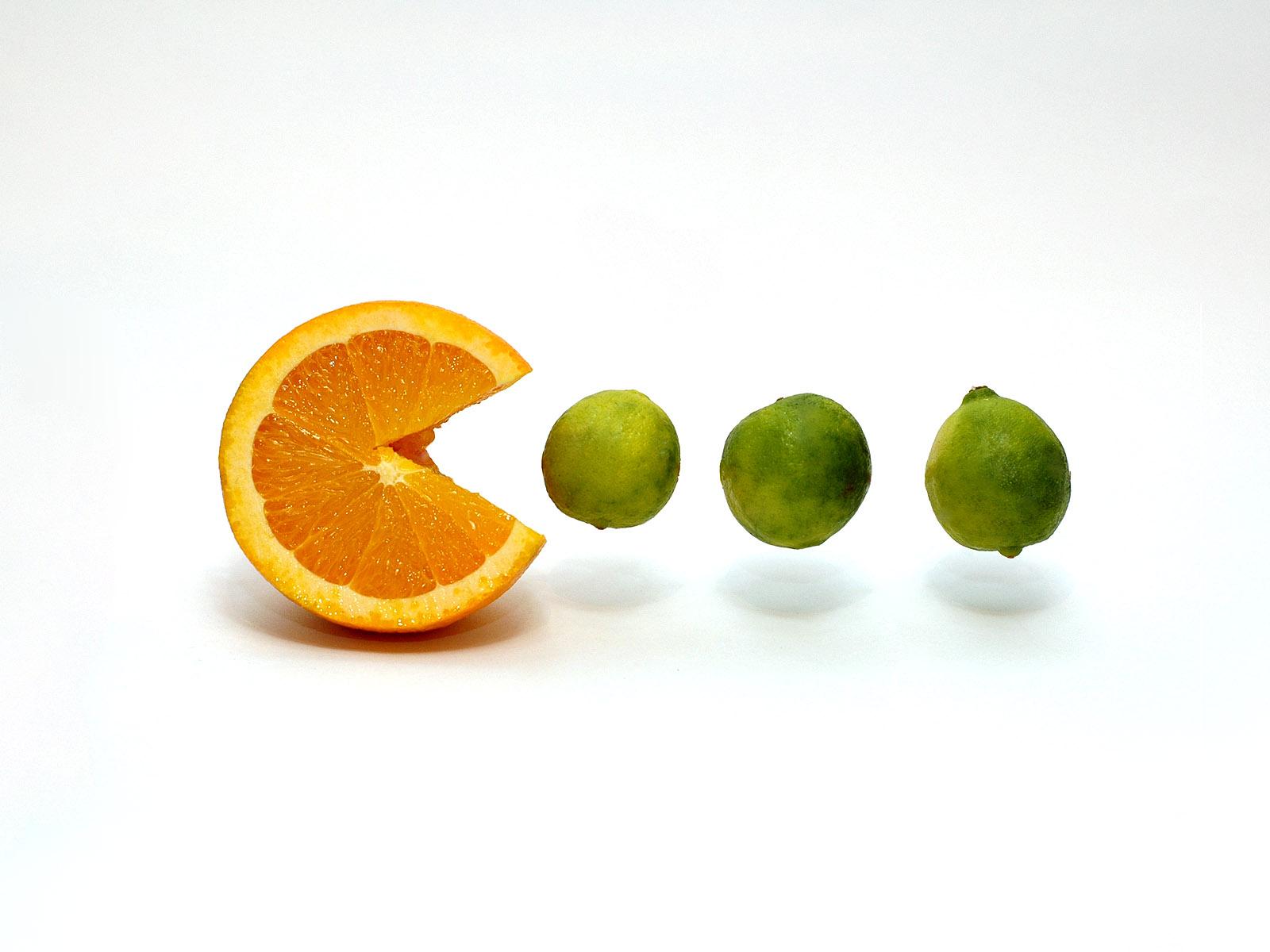 pacman en fruit! pacman-18-pacman-jeux-video