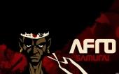 fond écran Afro Samourai