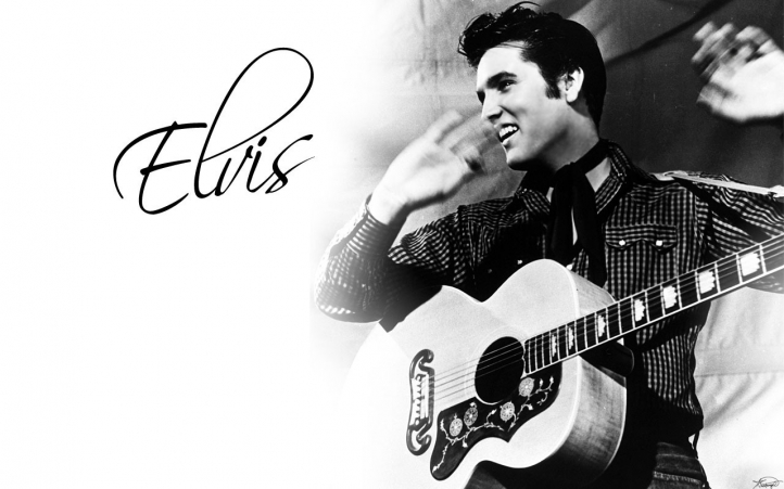 elvis presley wallpapers. tattoo The real Elvis Presley