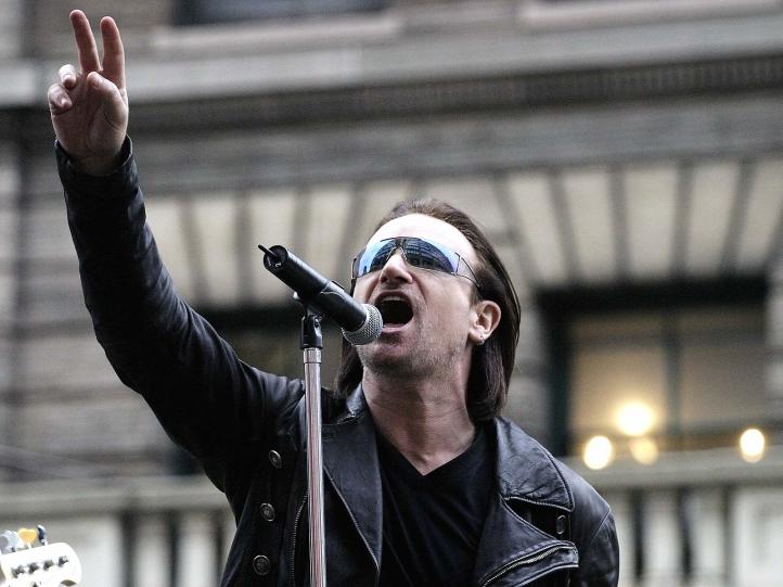Fond D Ecran Gratuit U2 Fonds D Ecran Musique Gratuits U2