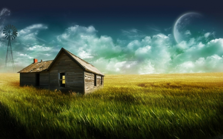 The Farmhouse fond écran wallpaper