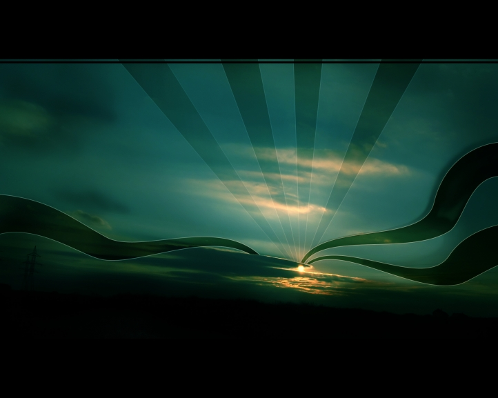 lever de soleil fond écran wallpaper