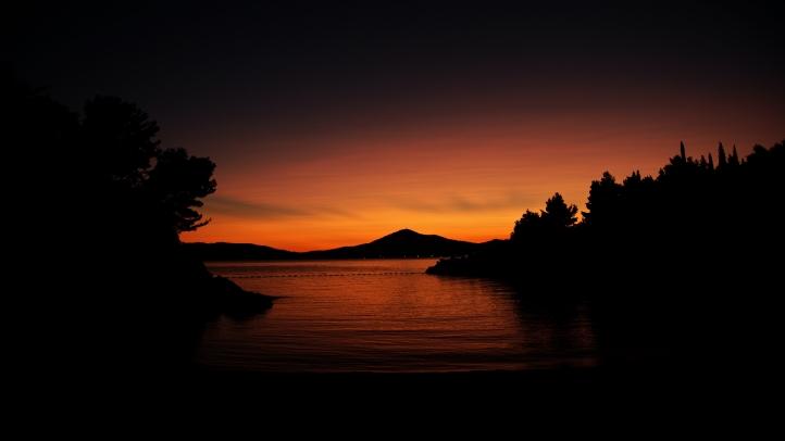 Sunset fond écran wallpaper