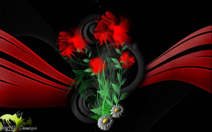 262-fleur fond écran wallpaper
