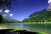 fond écran Lac de montagne 2