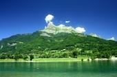 fond écran Lac de montagne