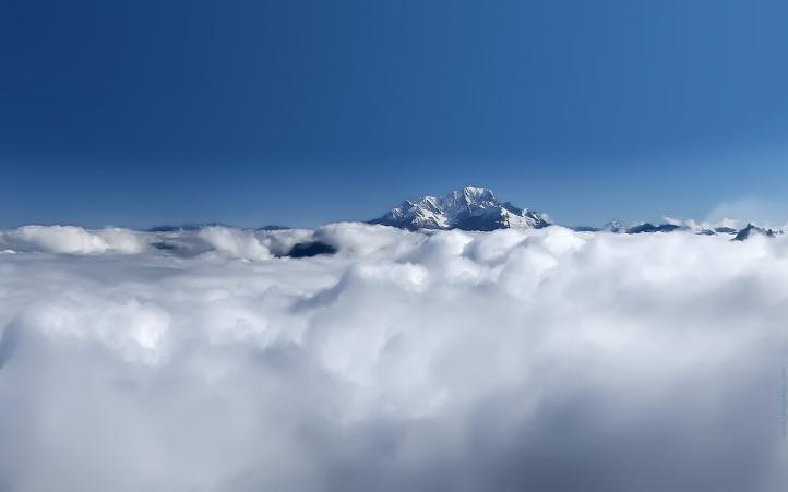 Le Mont Blanc fond écran wallpaper
