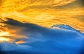 fond écran Le mont Fuji