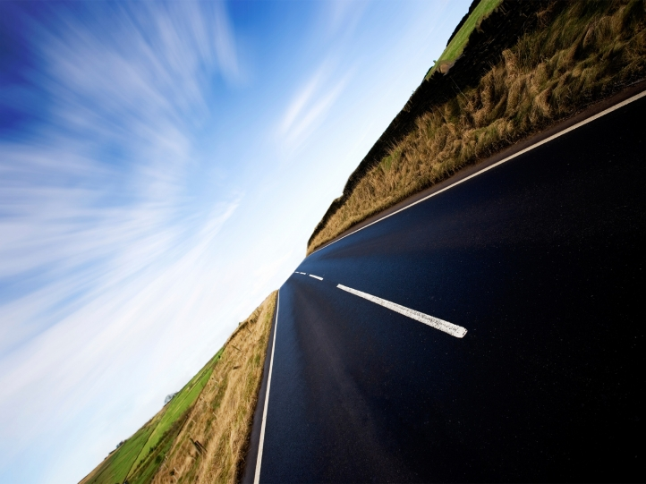 Road fond écran wallpaper