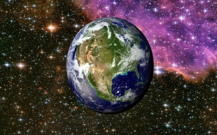 02-la terre fond écran wallpaper