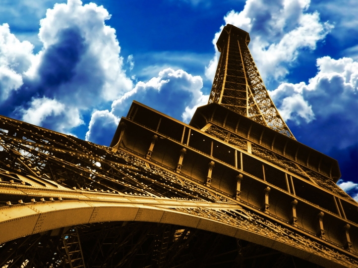 La Tour Eiffel fond écran wallpaper