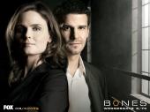 fond écran Bones et Booth