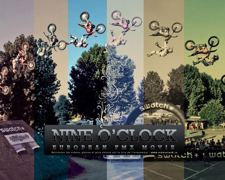 Nine O'Clock FMX Wall fond écran wallpaper