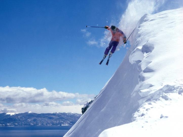 Sports hiver fond écran wallpaper