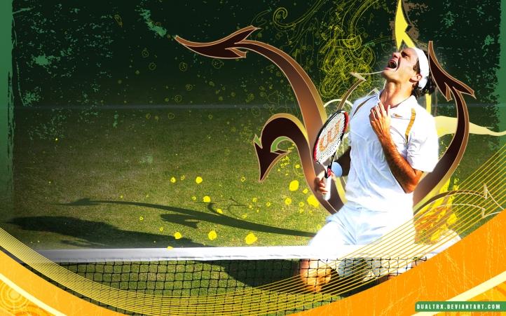Roger Federer fond écran wallpaper