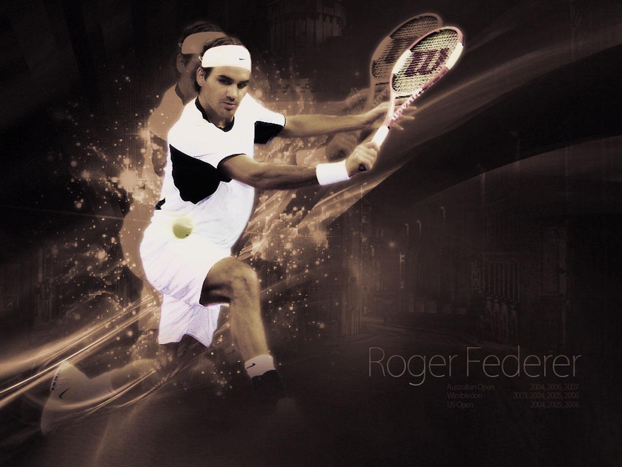 Fond d'écran Roger Federer